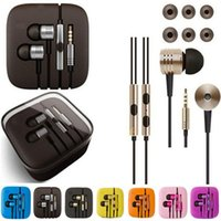 Wholesale piston headphones for sale - Group buy New Xiaomi nd Piston Earphones Headphone Earbuds In Ear With Mic Remote Control