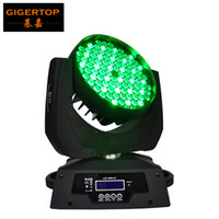 TIPTOP Stage Light 108 3W Led Moving Head Light RGBW Mistura de cores Slim Silent Design Beam 15 graus Black Shell DMX 12CH 90-240V