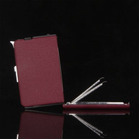 Wholesale 3 Colors click n vape cigarette case with lighter attached smoking with built in Wind Proof Torch Lighter butane recycled may be filled