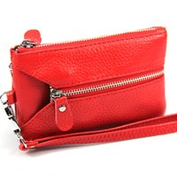 Wholesale key wallets for sale - Genuine Leather Women Key Purse Coin Purse Key Wallets Clearance Price G158
