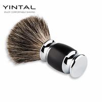 Wholesale Razor Hand - WEISHI Badger Hair Shaving Brush Hand-made Badger Silver-tip Brushes Shave Tool Shaving Razor Brush