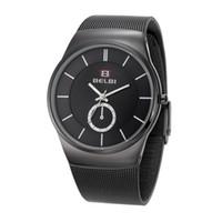 Wholesale Glasses La - ocio reloj deportes Fashion men relojes de pulsera de la aleación analógicas de alta calidad color multi
