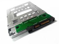 hochwertige festplatten großhandel-MacPro SSD Transfer Bracket und Schrauben Hohe Qualität 2,5 bis 3,5 SATA HDD Festplatte für Mac Pro
