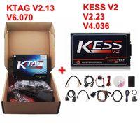 Wholesale Obd2 Programming Tool - Wholesale-2016 V2.13 KESS V2 OBD2 Manager Tuning Kit + KTAG V2.11 ECU Programming Tool ECU Chip Tunning Master Version K Tag KTAG K-TAG