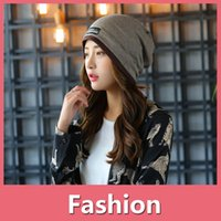 Wholesale oversized sun hats for sale - New Fashion Girl Women Men Hat Trendy Warm Oversized Chunky Soft Oversized Cable Knit Slouchy Beanie Winter Cap DHL Free