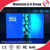 Wholesale Video Wall Displays - Shenzhen Mountain A-Li Group P3 SMD 3 in 1 Indoor Full Color High Brightness LED Display Video Wall   LED Screen For Advertising Billboard
