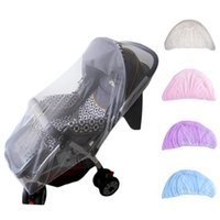 Wholesale Baby Stroller Pushchair Mosquito Insect Shield Net Safe Infants Protection Mesh Stroller Accessories Mosquito Net cm