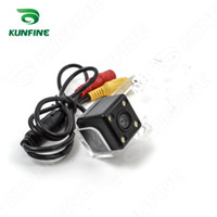 Wholesale Vios Cars - CCD Track Line Car Rear View Camera For Toyota NEW VIOS 08 10 11 Parking Assistance Camera Night Vision LED Light Waterproof KF-V1246L