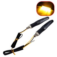 Wholesale amber leds - iTimo 1 Pair LED Motorbike Turn Signal Lights 9 LEDs Motorcycle Flasher Blinkers Universal Motor Indicator Lamp Amber Lighting