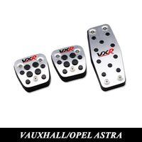 Wholesale Gas Clutch - Vauxhall Opel Astra h j gtc Mokka Insignia Car Clutch Gas Brake Pedal Aluminum Steel Accelerator Pedals Cover Auto Accessories