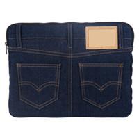 lacivert kadın çantaları toptan satış-Moda Stil Denim Kadın Çanta Taşınabilir Kozmetik Çanta Pad Tasarımcı Ünlü Marka Kadınlar için Çanta Sıcak Satış Donanma Renk Koleksiyonu