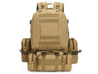 Wholesale military bags for sale - 55L Outdoor Military Tactical Bag Camping Hiking Trekking Backpack