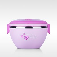 Wholesale Stainless Steel Thermal Lunch Box - Hot Sales Stainless Steel Lunch Box Thermal Insulated Bento Box Picnic Student Food Container with Handle Bento Lunchbox JH0047