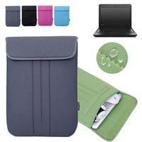 Wholesale Laptop Cases Thinkpad - Vertical Neoprene Protective Skin Laptop Bag Computer Sleeve Case Cover for Lenovo 11.6'' ThinkPad 11e   IdeaPad N20P Chromebook