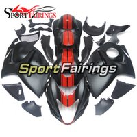 Wholesale Motorcycle Cowling For Suzuki - Fairings For Suzuki GSXR1300 Hayabusa 08 09 10 11 12 13 14 2008 2014 Sportbike ABS Motorcycle Fairing Kit Bodywork Cowling Mustang Shelby