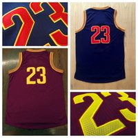 Wholesale Cheap Wholesale Athletic Apparel - Hottest #23 Burgundy Player Basketball Jersey Discount Cheap Basketball Shirts High Quality Basketball Wear Mens Athletic Apparel In Stock