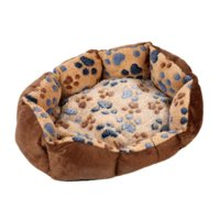 Wholesale 35 cm Soft Fleece Beds Dog Puppy Cat Mat Warm Winter Pet Bed for Dogs pet beds canada
