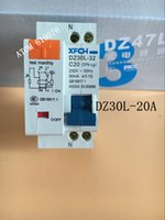 Wholesale Earth Leakage - Wholesale-DZ30LE 20A RCBO double wire earth leakage circuit breaker DPN mini household air switch High quality rcbo mcb DPN VIGI
