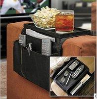 Wholesale Sofa Arm - Sofa Couch Arm Rest Organizer 6 Pockets Armrest Organizer Free Shipping