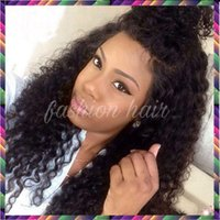 "Wholesale Glueless Lacefront Wigs - Glueless Brazilian Curly Wigs 10""-26"" Brazilian Vrigin Hair Full Lace Wigs LaceFront Wigs Curly For Black Women"