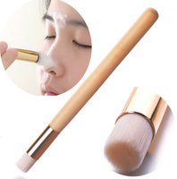 Wholesale clean nose hair online - Makeup Face Nose Brush Cleaning Acne Blackhead Washing Brushes Pore Cleaner Face Care Make Up Remover Tool Cosmetic Beauty