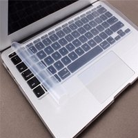 Wholesale Laptop Keyboard Skin Hp - Waterproof Dustproof Keyboard Cover Case Clear Silicone Keyboard Protector Skin for Mac 13inch 14inch Laptop for Dell for HP