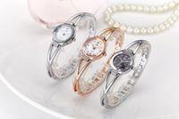 Wholesale China Business Watch - China Women Quartz Watch Sliver Ladies Steel Fashion Business Wrist Watches Argent Female Rose Gold Wristwatches