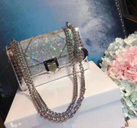 Wholesale Shimmer Dresses - New bolsa feminina luxury handbags women bags designer bolsas de luxo mulheres sacos de designer women messenger bags