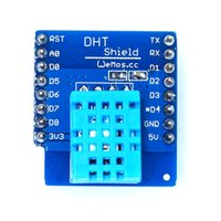 Wholesale Dht11 Sensor - Wholesale-DHT Shield for WeMos D1 mini DHT11 Single-bus digital temperature and humidity sensor module sensor