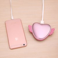 Wholesale High Power Heaters - Power Banks USB Mini Rechargeable for Cell Phone Portable Heater Hand Warmer for Winter High Quality