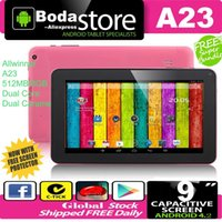 FreeShip NEW 9-Zoll-Dual-Core-CPU Android 4.2 512MB DDR Q88 8 GB NAND-Flash-A23 Bluetooth WIFI Doppelkamera-9-Zoll-Tablet-PC Rosa