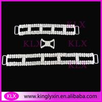 bikinis elmas taklidi konektörler toptan satış-(150 adet / grup 50 adet her stil) Kristal rhinestone bikini konnektörleri bikini takımları için