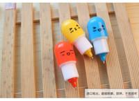pastillas al por mayor-DHLSF_EXPRESS Kawaii cápsulas píldoras bolígrafos pluma creativa para la escuela suministros de escritura papelería famliy pequeño ornamento