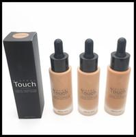 Wholesale Unique Oil Lamps - TOP Unique Touch Foundation Professional Makeup Foundation Waterproof Face Concealer 10 Colors Free Shipping