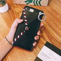 Wholesale envelope case - for iPhone 7 Case Luxury Wallet Leather Card Holder envelope bag Phone cases for iPhone X 6s 6 7 8 Plus Cover