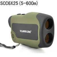Wholesale Free Range Finder - Visionking 6X25CC Range Finder BAK4 Rangefinde Laser Rangefinder Monocular 600 m Telescopes For Hunting Ranger Finder Free Ship