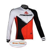 Pro team Merida radfahren jersey winter thermische fleece langarm maillot ropa ciclismo schnell trocknend Tour de France bike wear C0304