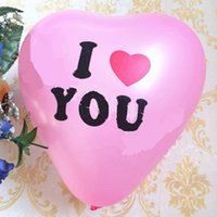 Wholesale ball shaped balloons for sale - Group buy New Design Wedding Balloons Printing Balls Party Gift Valentine s Day Christmas Decoration Love Heart Shaped Printed
