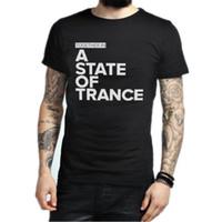 Wholesale Armin Van Buuren Shirt - Wholesale-Armin Van Buuren Together In A State of Trance Letter Print T Shirt Popular Music DJ T-shirt Cotton Short Sleeve Mens Tshirt