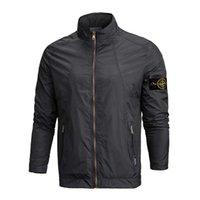 Wholesale Fast Wind Jacket - fast shipping 2015 new stone autumn mens thin jacket bomber jacket and coat stone blue Wind jacket