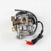 Wholesale Motorcycle Engine Carburetor - CVK PD18J 18mm Carburetor Fit Honda 4-Stroke Motorcycle GY6 50cc Scooter Moped PD18 Engine 139QMB 139QMA ABM IRBIS BAJA