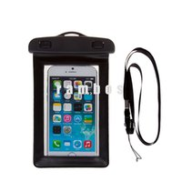 Wholesale Galaxy S4 Case Water Proof - S5 case Waterproof bag Case Dust-proof Smart Phone Bag Pouch with Neck strap for Samsung Galaxy S3 s4 s5