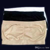 seksi tüp sporları toptan satış-600 adet Moda Seksi Kadın Straplez Boob Tüp Üst Bandeau Sutyen Iç Çamaşırı Yoga Spor Büyük promasyonu Tops