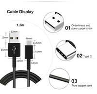 Wholesale Pixel Inches - USB Type C Cable, Male Data Sync Cable (3.3 ft   1m, Black) Apple New Macbook 12 Inch, new Nokia N1 tablet, Google Chrome Pixel