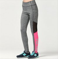 Wholesale Sexy Sportswear For Women - VS Love Pink Quick-dry Women Yoga Pants Sexy Victoria Sportswear joggings Gym Secreat Tights Trousers Fitness Leggings for Ladies Girls New