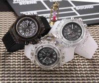 Wholesale Top Swiss Sport Watches - Sports Mens Watches Quartz Wristwatches Stopwatch Luxury Watch Top Brand Swiss watch BIG BANG relogies for men relojes Best Gift