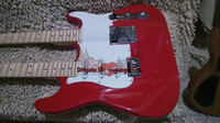 Wholesale double neck guitar high quality resale online - NEW Custom Shop Red Double Neck Electric Guitar High Quality