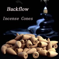 Wholesale Incense Mix - Smoke Backflow Incense Bullet Cones Aromatherapy Fragrance Natural Indoor Household Sachets 1KGS 500pcs mix Flavors wholesale