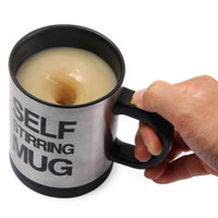 Wholesale Automatic Coffee Mixing Cup - 400 ML Self Stirring Coffee Cup Mugs Double Insulated Coffee Mug Automatic Electric Coffee Cups Smart Mugs Mixing Coffee Cup