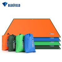 Wholesale Outdoor Shelter Canopy - Wholesale- Outdoor Sun Shelter Waterproof Camping Picnic Mat Picnic Blanket 4 Size 4 Colors Pergola Canopy Tent Awning